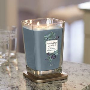 Yankee Candle Elevation Dark Berries Large Candle